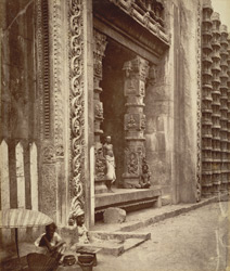 Gateway of Roya gopuram, unfinished [Minakshi Sundareshvara Temple, Madurai]